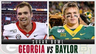 Sugar Bowl Expert Picks: #5 Georgia vs #7 Baylor   CBS Sports HQ