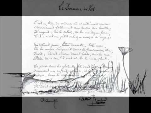 Rimbaud arthur le dormeur du val v 2 youtube - Lecture analytique le dormeur du val arthur rimbaud ...