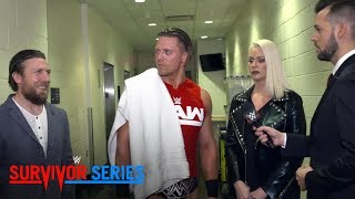 An amused SmackDown General Manage Daniel Bryan looks on as Maryse ...