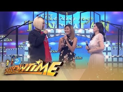 It's Showtime: Vice Ganda chit chats Marielle and Giselle