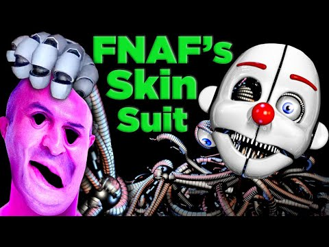 FNAF was right! Ennard's Bodysuit Actually Works!   The SCIENCE of... FNAF Sister Location