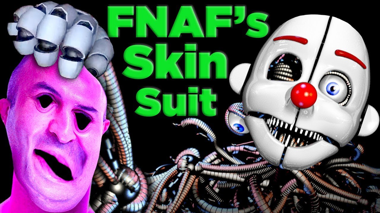 FNAF Was Right! Ennard's Bodysuit Actually Works! | The SCIENCE of... FNAF Sister Location image