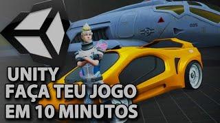 Unity 5 - Faça seu jogo em 10 minutos - Tutorial Básico - #0000-b