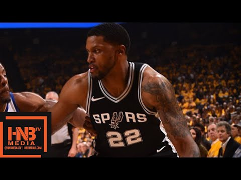 Golden State Warriors vs San Antonio Spurs Full Game Highlights / Game 5 / 2018 NBA Playoffs