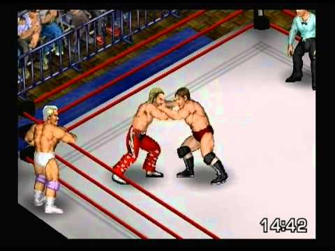 4/29/13 Freddie Blassie & Larry Zbyzsko vs Bruno Sammartino & Shawn Michaels Tag Team Match