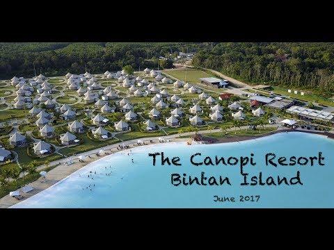 The Canopi Resort, Bintan Travel vlog - 4k