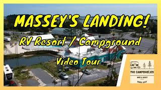 Massey's Landing RV Reṡort Tour - A Beautiful View!