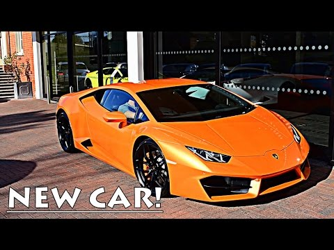 COLLECTING MY 2017 LAMBORGHINI HURACAN!!