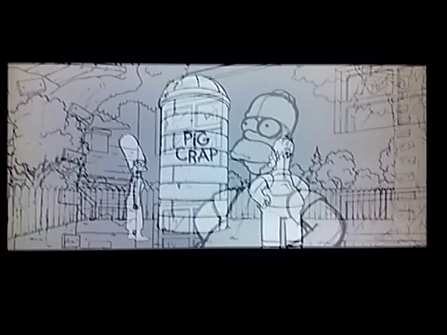 The Simpsons Movie Crap Silo Animatic Youtube