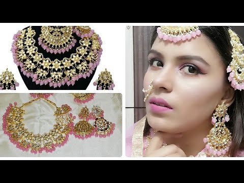 Amazon jewellery|bridal jewellery at Amazon|wedding jewellery at Amazon|online shopping review