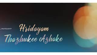Aalolam Song WhatsApp status Love Action Drama Dhyan Sreenivasan Nivin pauly