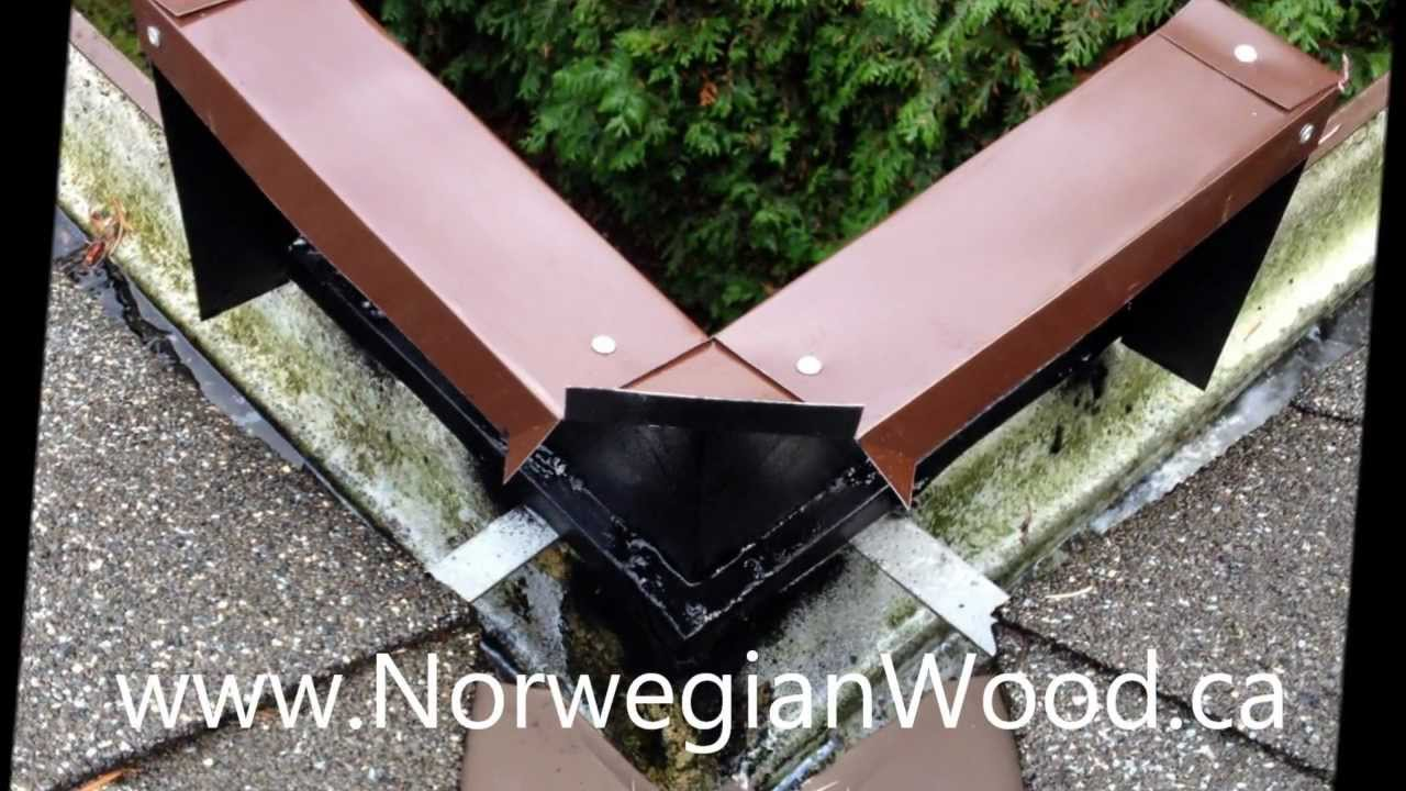 Norwegian Wood S Inside Valley Rain Diverter Guard Youtube