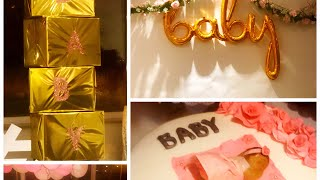 WE ARE HAVING A BABY SHOWER