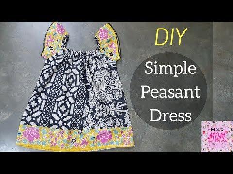 Sew Simple Peasant Dress
