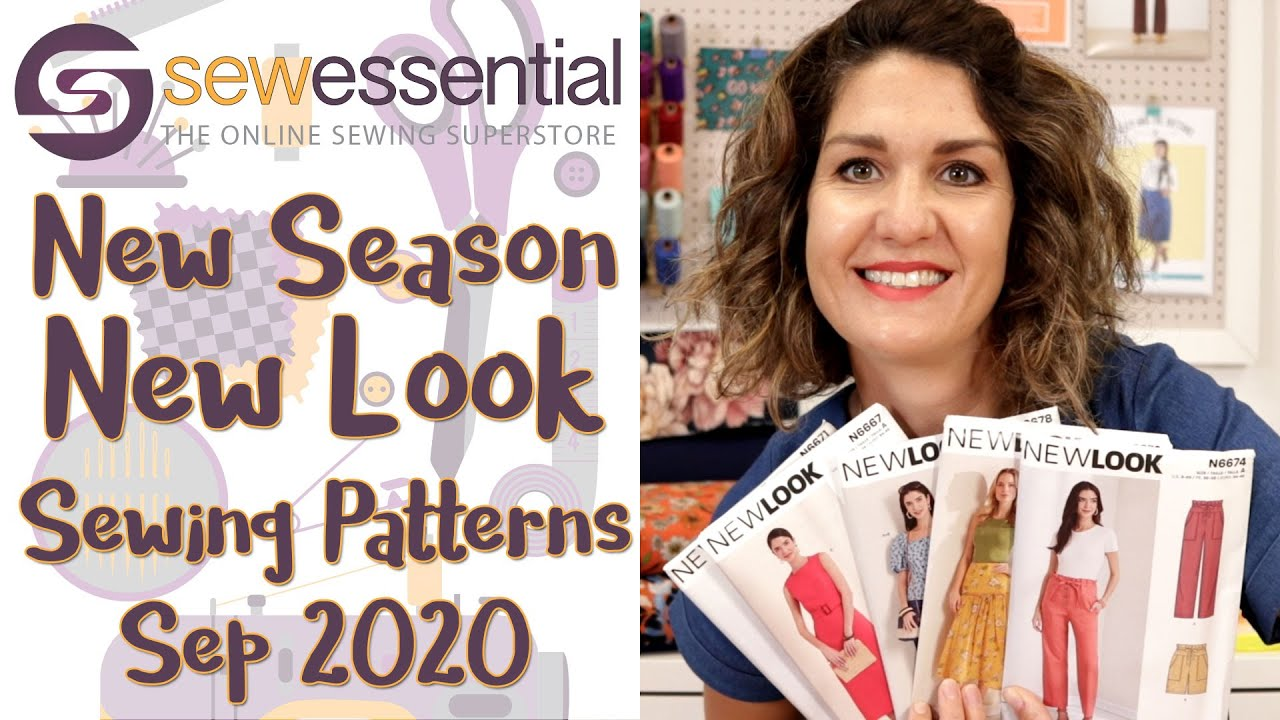 New Season New Look Sewing Patterns - September 2020