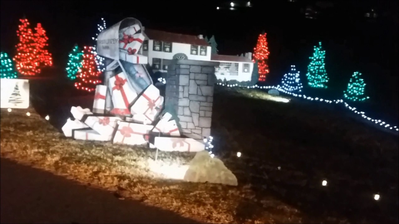 Christmas In The Park.Christmas In The Park Elizabethtown Ky S Freemon Lake Park Part 2 December 2016