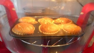 Bakewell Tarts Cooked In The Halogen Oven