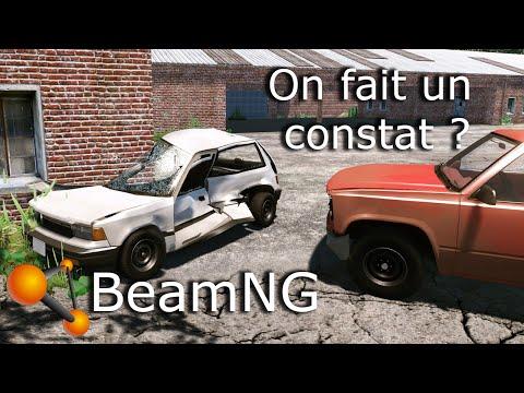 Présentation du jeu Beam.NG Drive - On plie de la carrosserie !