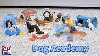CP Toys Dog Academy Playset