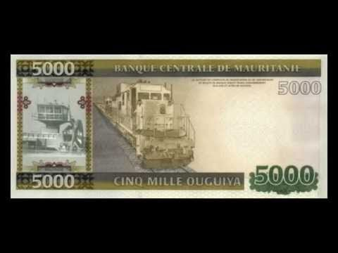 All Mauritanian Ouguiya Banknotes - 2011 to 2014 in HD