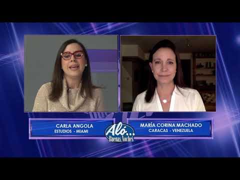 María Corina le dice a Maduro que se le acabó el tiempo - Aló BN EVTV 01/21/19 Seg 3