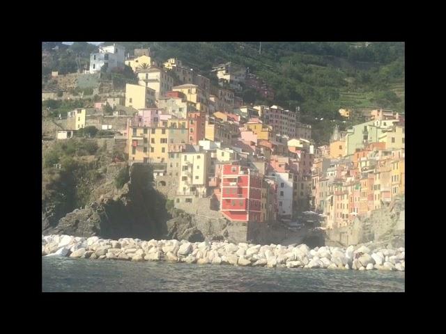 ITALY - Riomaggiore by boat