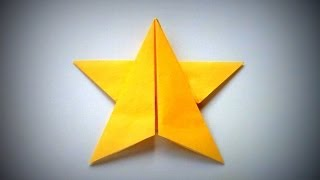 Origami - How to make a STAR