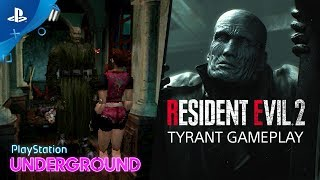 Resident Evil 2 - The Tyrant 1998 vs. 2019 | PlayStation Underground