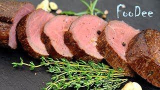 Мясо шиворот-навыворот в духовке! Сочная говядина в духовке! Slow-roasted beef tenderloin