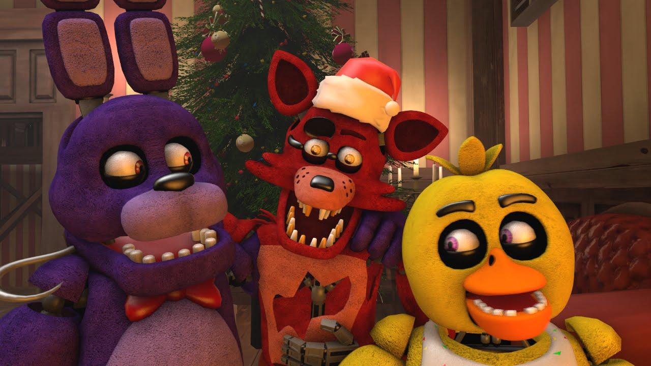 Fnaf Christmas.Sfm Fnaf Christmas At Freddy S