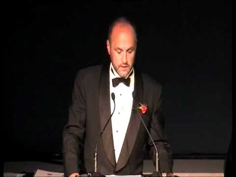 International IMPAC Dublin Literary Award winner's speech 2011