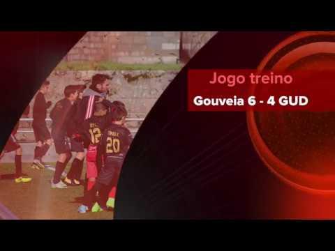 """Jogo de treino Gouveia 6 - 4 Guarda Unida """"B"""" (infantis 2006)"""