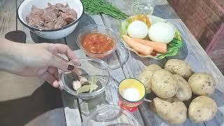 Говядина Тушеная с картошкой Самый Простой и Вкусный Рецепт