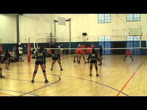 Offshore Volleyball Club 13-1 Girls vs OC Heat VBC 13-Josh Match2