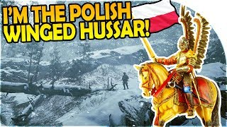 POLISH WINGED HUSSAR - LANCE EVERYTHING!- Battlefield 1 In the Name of the Tsar Lupkow Pass Gameplay