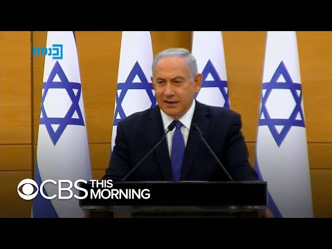 Israel's parliament to vote on new unity government that could see Benjamin Netanyahu lose power