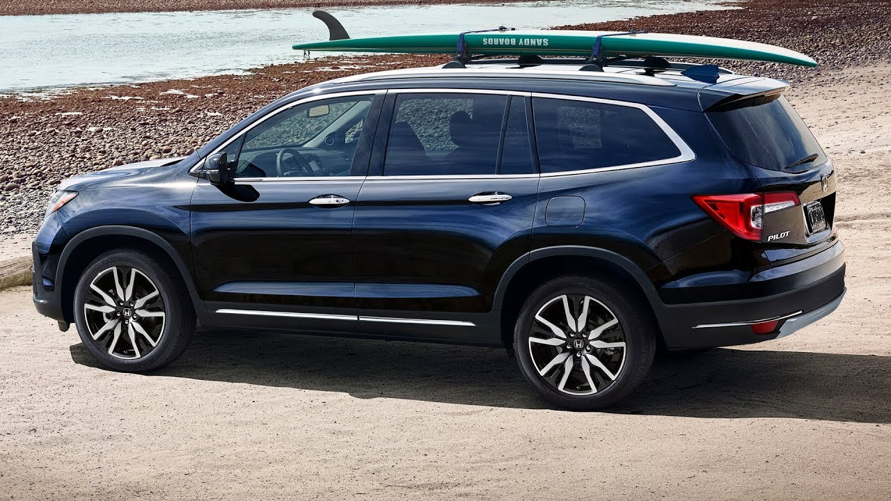 2019 honda pilot review youtube for Honda pilot 2018 review