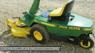 1993 John Deere F510 Minier, Springfield, Bloomington, and Peoria, IL 42843