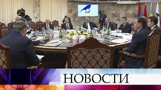 В Ереване проходит заседание межправительственного совета Евразийского экономического союза.