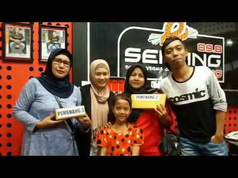 Ike Nurjanah Visit Serang Radio