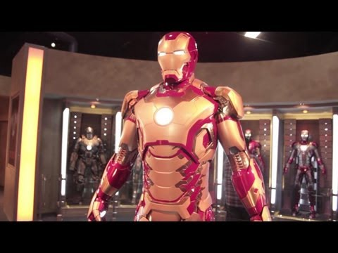 Iron Man 3 Tony Stark Expo At Disneyland