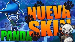 🔴Me BUY the NEW SKIN *PANDA TEAM LEADER* Fortnite: Battle Royale