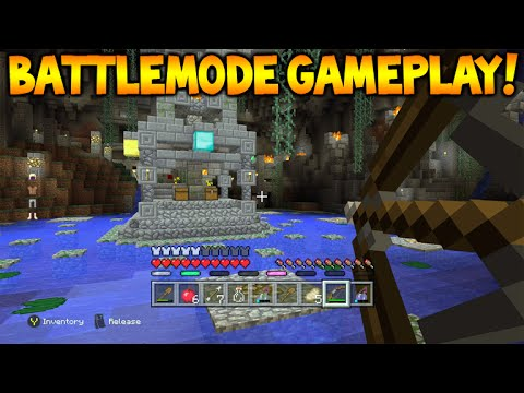 Minecraft Xbox 360/PS3 - NEW BATTLE MODE Official Gameplay Showcase Xbox Mini-Game (Battle Mode)