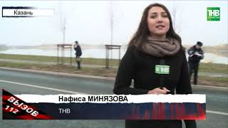 Пять автомобилей столкнулись на улице Декабристов | ТНВ