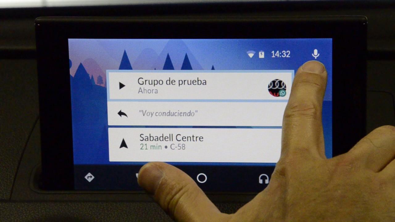 Cómo responder por dictado de voz un whatsapp a través de Android Auto