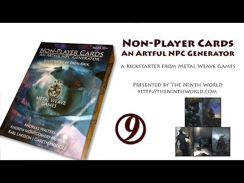 Non-Player Cards NPC Generator Decks Review