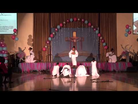 "Turning Point Schools Praise Dancers Ensemble ""Free"" Kierra KiKi Sheard"