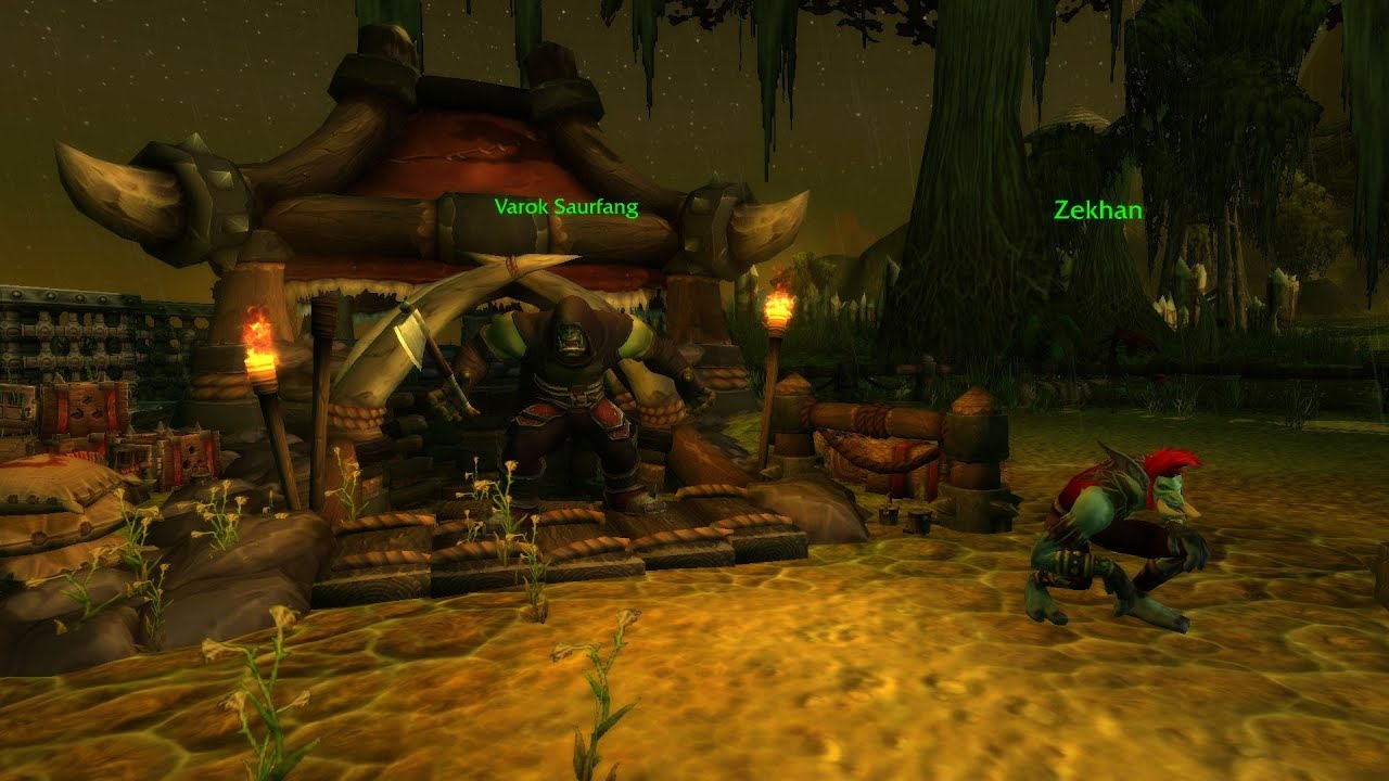The Story of Varok Saurfang in Patch 8 1 - News - Icy Veins