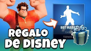 🕺🏼 BAILE FREE 🕺🏼 how to get gift from DISNEY and RALPH / HOT MARAT FORTNITE - BATTLE ROYALE