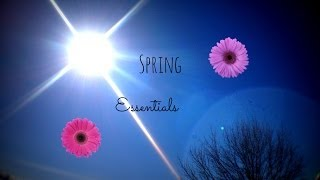 Spring Essentials|2014 Thumbnail